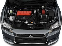 Image: 2011 Mitsubishi Lancer 4-door Sedan TC-SST Evolution MR FWD ...