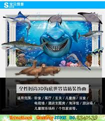 finding nemo 3d poster. Simple Poster Movie Finding Nemo Poster Wall Sticker 3D Window Ocean Shark Art  Decals Waterproof Home Bathroom Bedroom Decor Stickerin Stickers From  Inside 3d L