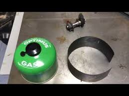 diy canister stove windscreen you