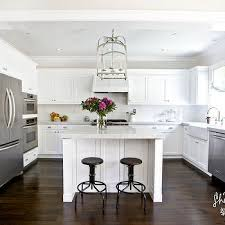 ... Cosy White U Shaped Kitchen With Island Most