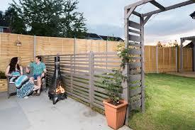 garden screen. Grange Urban Garden Screen - Heritage Gardens UK Online Centre S