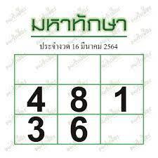 เลขเด่นเข้าทั้งบนล่าง เลขแม่นๆจาก หวยซอง หวยมหาทักษา 16