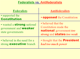 Federalists And Anti Federalists Venn Diagram Powerpoint Presentation Teaching History Core Learning