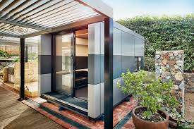 Office pods Japanese Harwyn Office Pod Photography Harwyn Archinect New Harwyn Alucobond Office Pods Continue To Revolutionize Modular