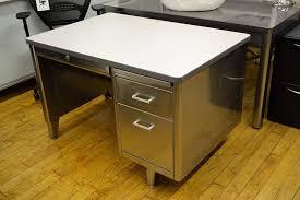 vintage steel furniture. Vintage Tanker Desk Steel Furniture
