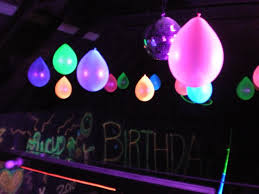 outdoor black light party ideas black light party