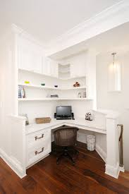 corner desk home office furniture. Stylish Built In Corner Desk Ideas Charming Office Furniture Design Plans With Brilliant Modern Home Eclectic Interesting E