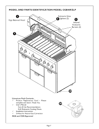 Thermador Char Glo Outdoor Barbecues Cgb48fzlp User Manual