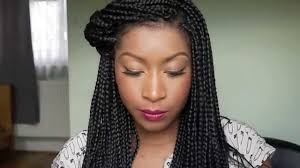Box Braids Hair Style how i style my box braids youtube 8114 by wearticles.com