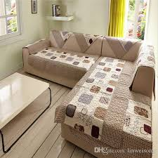 sectional sofa covers. Durable Polyester L Shaped Sofa Covers Printed Cover Set Couch Cape Slip Resistance Sectional Machine Washable Dining Room Chair Seat C