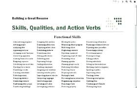 Power Word For Resumes 6 Action Words That Make Your Resume Rock Word For Responsible