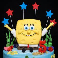 Celebration Cakes 3d Spongebob Squarepants Design Birthday Cake