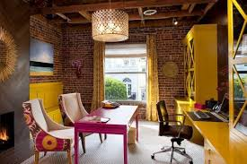 colorful home office. colorful home office design from artistic designs for living tineke triggs i