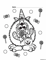 Small Picture Coloring Pages Printables Halloween Coloring Pages For Toddlers