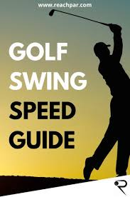 Golf Swing Speed Everything You Need To Know 2019 Update