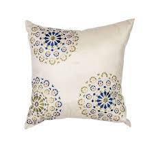 beige decorative pillows. Contemporary Beige Kas Rugs Elegance IvoryBlue Decorative Pillow Inside Beige Pillows E