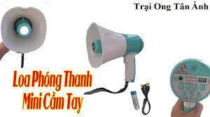 Trại Ong Tân Ánh - Loa Phóng Thanh Mini