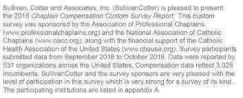 Hospice Chaplain Salaries Association Of Professional Chaplains