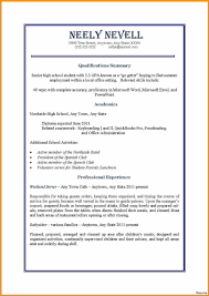 Resume For First Job Part Time Jobs Resume Sample For First Job High School 100 100a 38