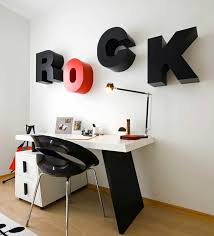 ... Create creative wall design with letters and writings
