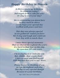 Happy Birthday To My Friend In Heaven Quotes Happy Birthday In