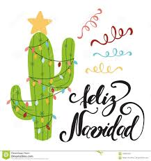 Merry Christmas Banner Print Merry Christmas Banner Happy Cactus In A Christmas Stock
