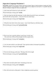 Figurative Language Worksheets   Homeschooldressage.com