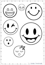 Stampabile Faccine Smile Da Colorare E Stampare Disegni Da Colorare