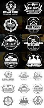 Gun Company Logos Vector Gun Military Badges And Logos Eps Template Only