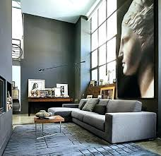 contemporary loft furniture. Loft Furniture Ideas Living Room Contemporary High Space With Greys .