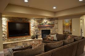 Small Picture Decorations Natural Exposed Stone Wall Ideas For Home Interior