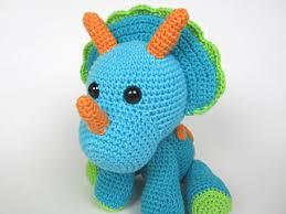 Crochet Dinosaur Pattern Awesome Ravelry Triceratops Tripi Dinosaur Amigurumi Pattern By Veronika