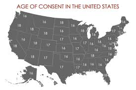 States Age Of Consent Chart What Is The Age Of Consent In All 50 States Legal Age Of