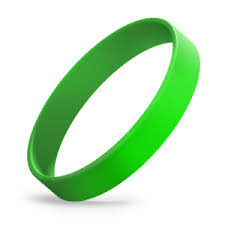 <b>Solid Color Silicone</b> Wristbands