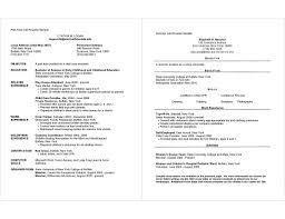 Resume Template Part Time Job Student Australia Cv Ireland Sample