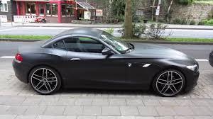 BMW 3 Series bmw z4 matte : matte black AC Schnitzer BMW Z4 in Aachen/ Germany - YouTube