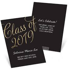 Graduation Name Card Inserts Template Classic Party Mini Graduation Party Invitations