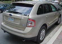 2017 Ford Edge Color Chart Ford Edge Wikipedia
