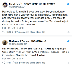 Hanteo Charts Reported To Have Manipulated Figures For Exo