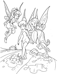 Small Picture TinkerBell Coloring Pages 22 Coloring Kids