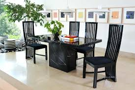 black marble dining table set a dining table with both top and base in black marble black marble dining table