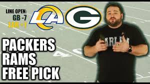 Packers vs Rams Predictions