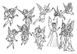 Small Picture Pixie Hollow Fairy Coloring Pages Coloring Pages