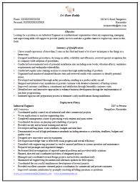 Entry Level Manufacturing Engineer Resume Eager World Template net