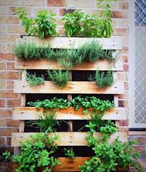 Small Picture Create a vertical garden for your home by wooden panels Interior