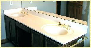 quartz bathroom vanity top how to install white tops prefab with sink single