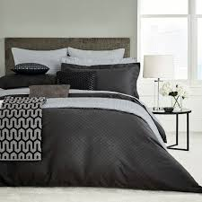 bedeck peacock blue hotel collection petra bedding graphite pillowcases barbours