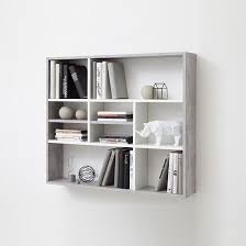 andreas wall mounted shelving unit in