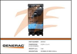generac parts page 73 ziller electric generac 0d5553 60a 480v circuit breaker 3 phase