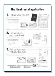 Application Form For Rental Rent Real Estate Renting Property With First National Real